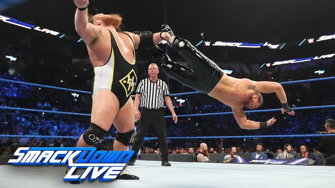 Heavy Machinery vs. Kevin Owens & Dolph Ziggler: SmackDown LIVE, July 2, 2019