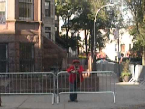 President Obama Comes to Crown Heights, Brooklyn, NY Oct. 25, 2013