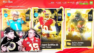 My Dad Opens Packs and Pulls 3 *GOLDEN TICKETS*