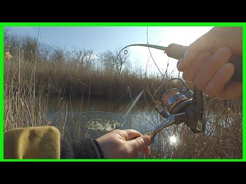 Открытие сезона 2020 после нереста щуки. Рыбалка на спиннинг в марте, щука весной