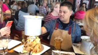 Trash Can Nachos at Guy Fieri's in Vegas