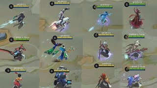 ALL LEAKED SKINS GAMEPLAY! (Full Skill Effects) Mobile Legends