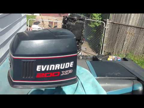 Evinrude 200XP - YouTube