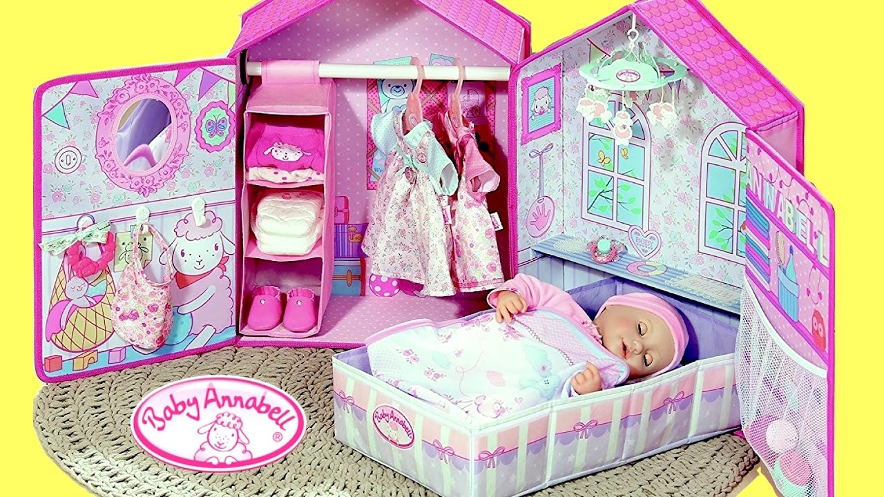 Baby Annabell Bedroom My Baby Annabell Doll Sleeps In
