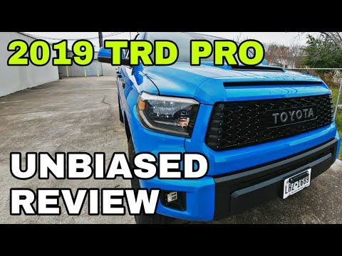 2019 Tundra TRD Pro a great buy? Find out!
