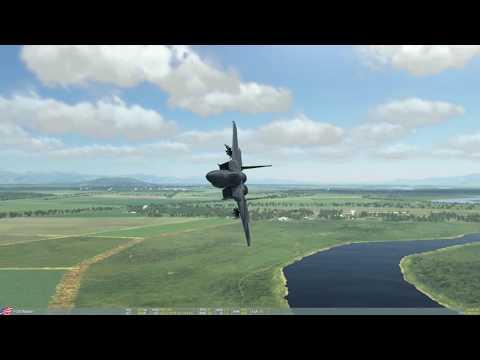 DCS F-15C - low level, high speed