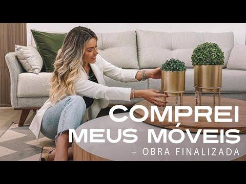 COMPREI MEUS MÓVEIS + OBRA FINALIZADA