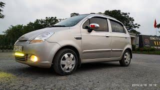 Yên tâm mua xe từ xa.Đánh giá chi tiết spark 2009-P1