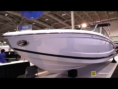 2017 Cobalt A28 Motor Boat - Walkaround - 2017 Toronto Boat Show