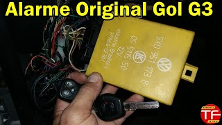 Central original de alarme e trava elétrica  do Gol G3 e Santana