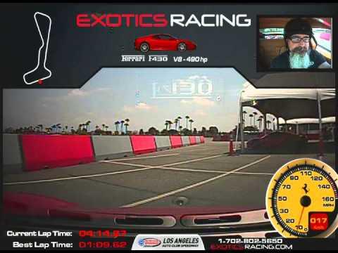 Exotic Racing Los Angeles Ferrari F430 RP