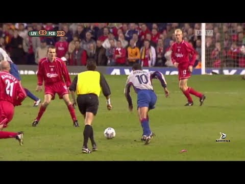 Liverpool 1-0 Barcelona -  UEFA Cup 1/2 Final 2000/2001