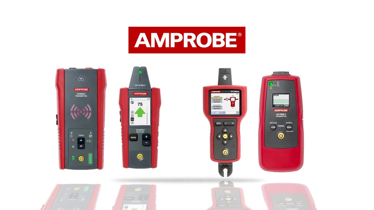 Amprobe AT-6000 Series Advanced Wire Tracer Kits - YouTube