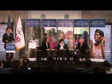 Full Launch Event of Making All Voices Count