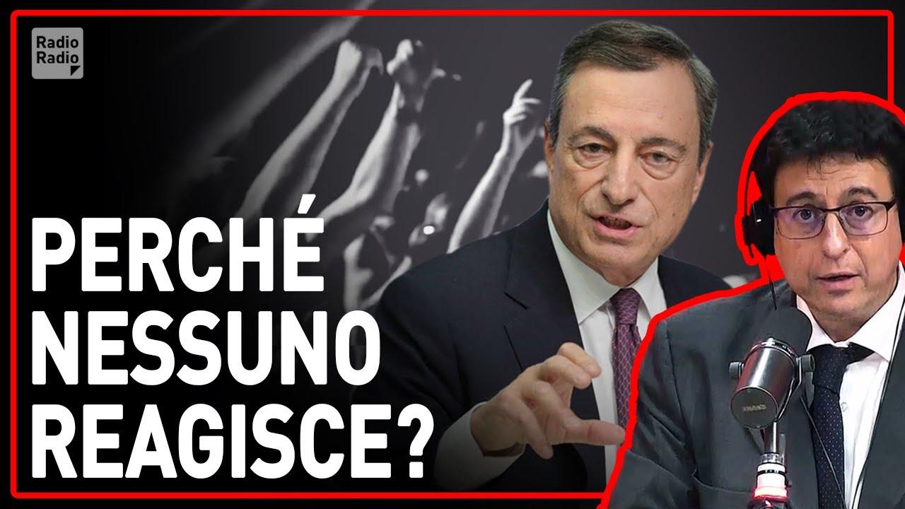 Hanno capito come bloccare la rivolta del popolo! Draghi lo sa bene: è scritto nel documento del G30