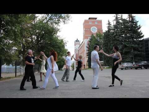 International Flashmob West Coast Swing 2016 - Egorievsk