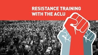 The Resistance Training: An ACLU Town Hall Live in Miami, FL