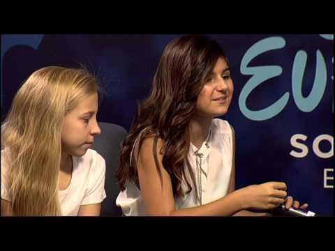 Junior Eurovision 2015: Press Conference of San Marino