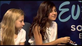 Junior Eurovision 2015: Press Conference of San Marino