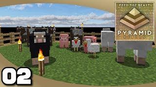 FTB Pyramid Reborn - Ep. 2: Mob Farms