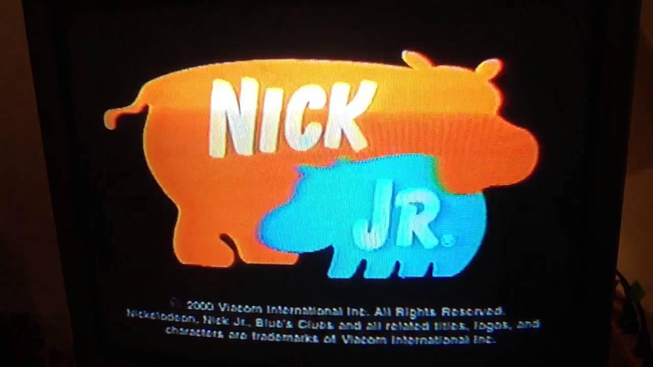 Nick Jr Hippos Logo 2000 Youtube