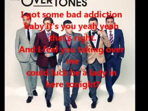 The Overtones Gambling Man Karaoke