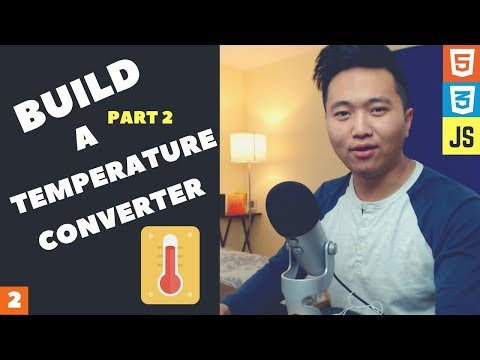 How to Build a Temperature Converter with Html, Css, and Javascript (Part 2) thumbnail
