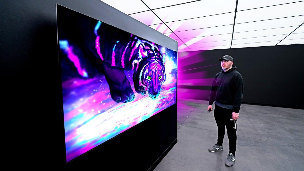 LG's Brightest OLED Display Yet...