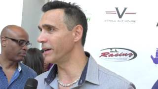 Adrian Paul at the 2nd Annual The Peace Fund Celebrity Poker Tournament at The Reserve in Playa Vist
