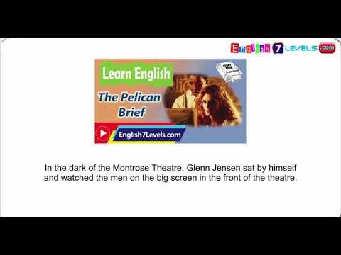 Learn English Through Story ★ Subtitles  The Pelican Brief upper intermediate