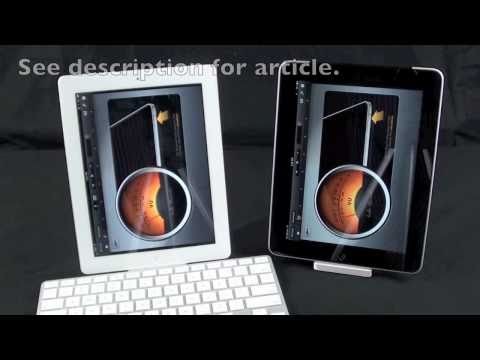 Apple iPad 1 vs iPad 2: Microphone Comparison (Are they different?)