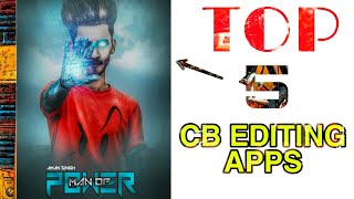 Top 5 Best CB And Professional Photos Editing Android Application !!  2020 Best Apps