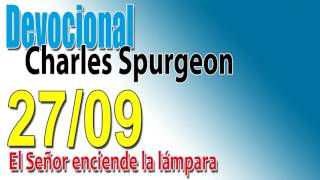Devocional Charles Spurgeon 27/09 - El Señor enciende la lámpara