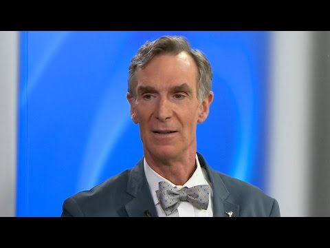 Bill Nye discusses newest images of Pluto