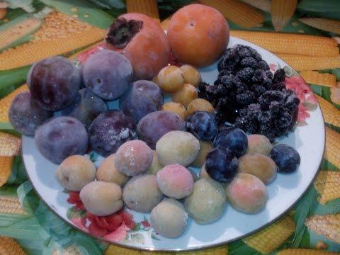 Вопрос: Как заморозить фрукты?