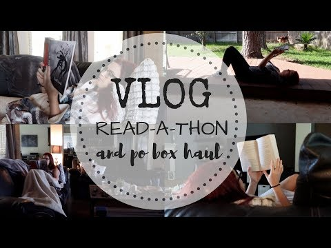 VLOG | 24-Hour Read-a-thon and P.O. Box Haul