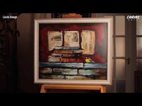 Painting Books Using Acrylics Tutorial