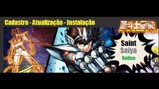 Saint Seiya Online v0.0.109 - Criando Conta, Instalando e Atualizando o Jogo!(20013)
