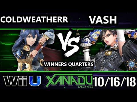 S@X 272 Smash 4 - SL | ColdWeatherr (Lucina) Vs. Vash (Bayonetta) - Wii U Winners Quarters