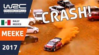 WRC - Rally Guanajuato México 2017: Kris Meeke´s exit in SS19 thumbnail