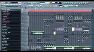 Benny Benassi - Cinema (Skrillex Remix) Full Song Remake in FL Studio by LEGACY