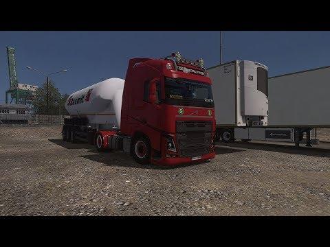 Volvo FH - Cement Trailer - Euro Truck Simulator 2 v1.28 - Promods 2.20