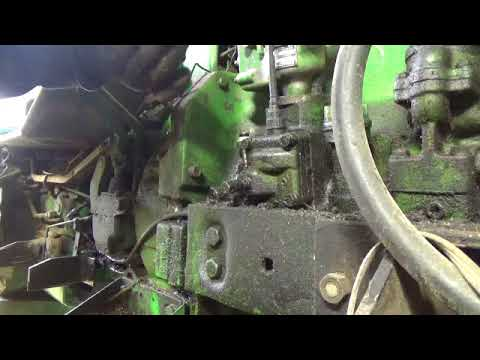 John Deere 4020 Oil Sensor Remove And Replace Youtube