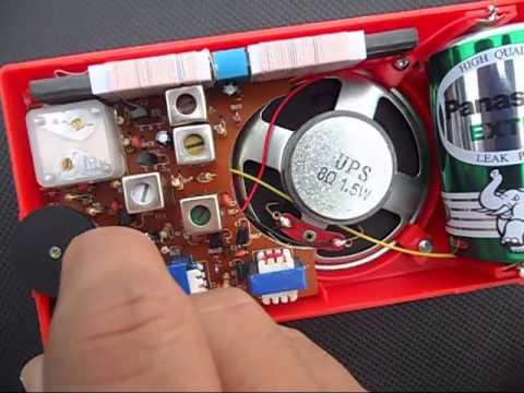 Am Radio Receiver 8 Transistors Kit