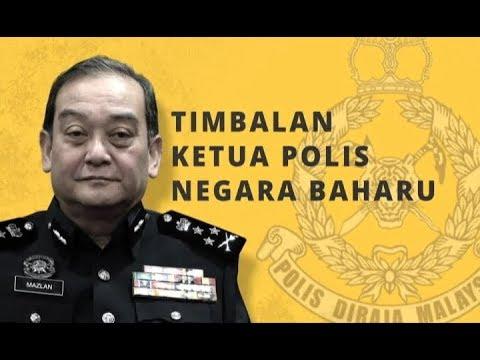 Infografik Timbalan Ketua Polis Negara Baharu Youtube