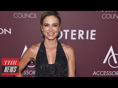 ABC's Amy Robach on Making Comments on Jeffrey Epstein   THR News