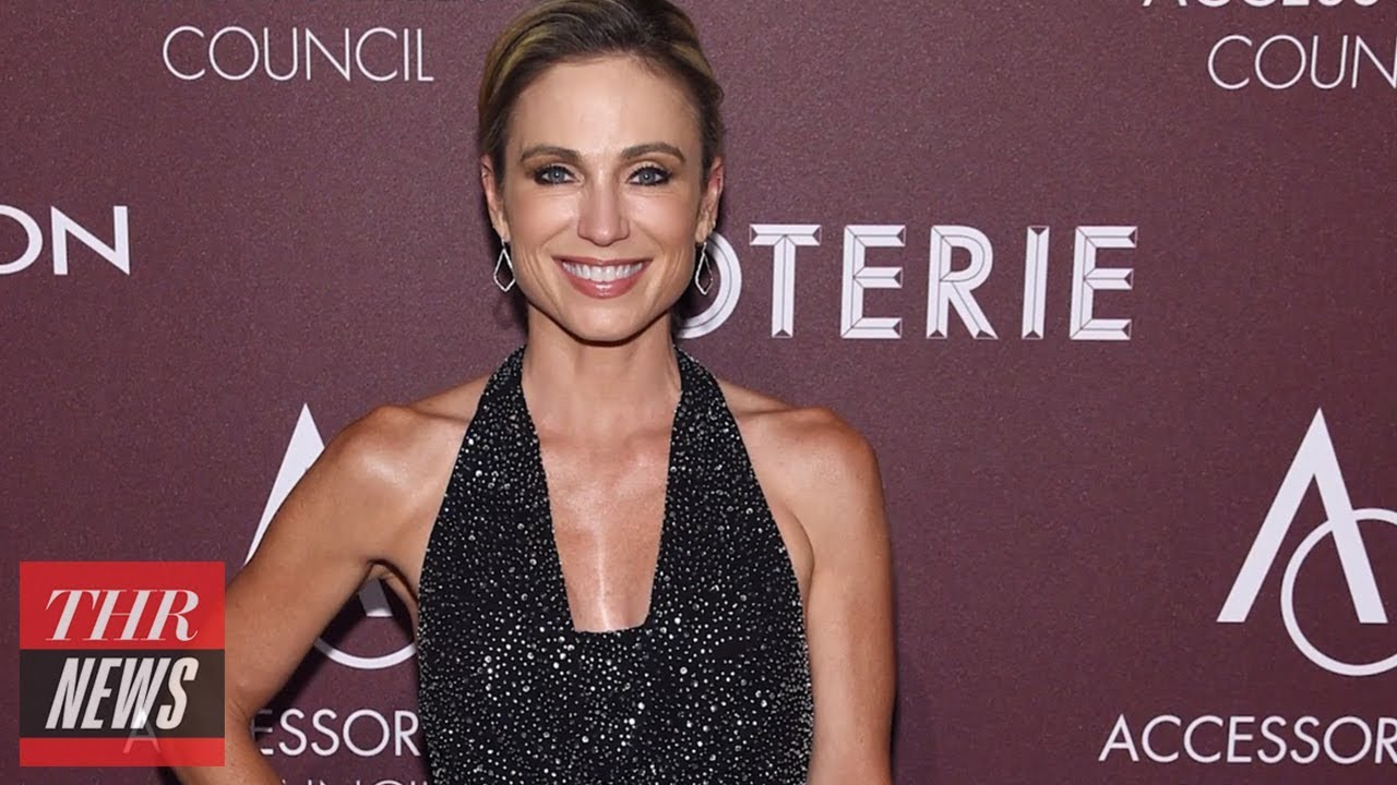 ABC's Amy Robach on Making Comments on Jeffrey Epstein | THR News