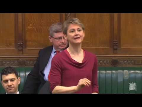Wise words from Yvette Cooper on Family Reunion