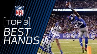 Top 3 Active WRs with the Best Hands | NFL Now