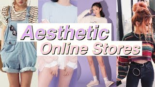 8 AESTHETIC ONLINE STORES // Tumblr